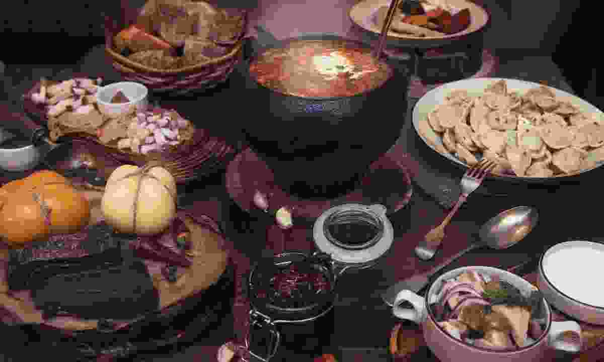 Hearty Russian food (Dreamstime)
