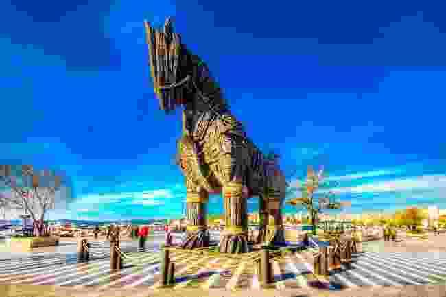 Wooden Horse in Canakkale, near Troy (Shutterstock)