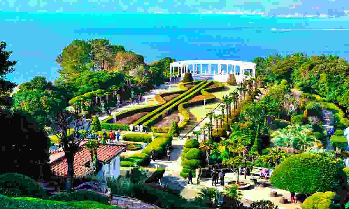 Botanic garden, Oedo Island (Shutterstock)