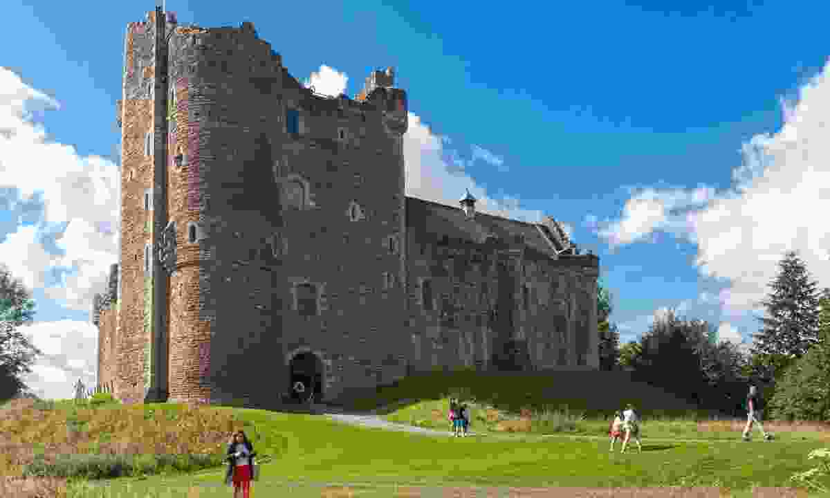 Doune Castle. Abusive French guards not shown (Shutterstock)