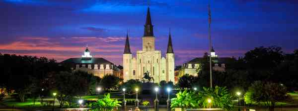 St Louis Cathedral and Jackson Square in New Orleans (Shutterstock)