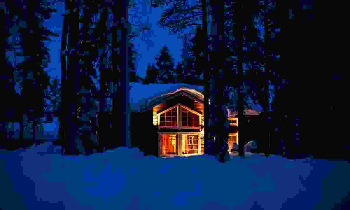 A cosy cabin in Levi Fell (Shutterstock)