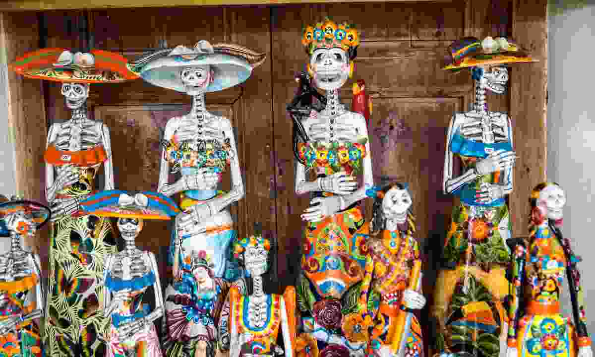 Day of the Dead, Mexico (Dreamstime)