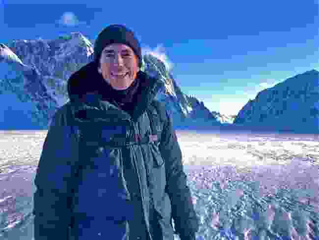 Simon marvels at Denali National Park, Alaska (BBC/Jonathan Young)