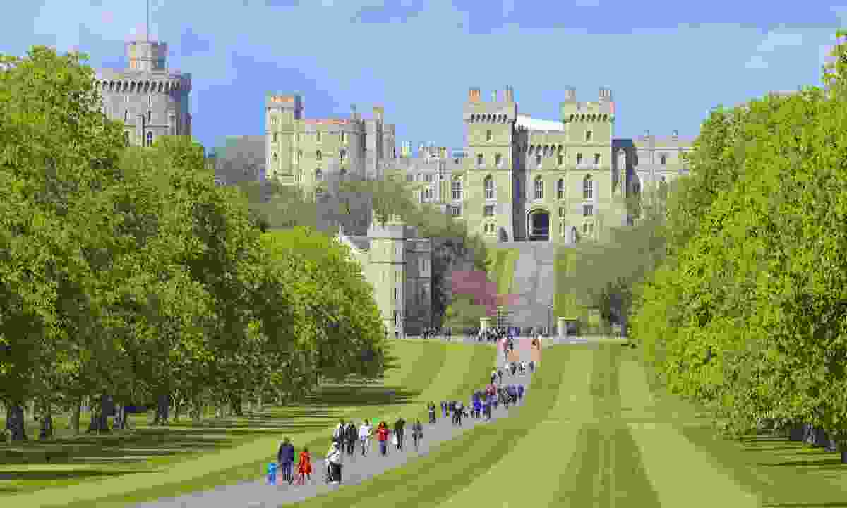 Views of the Castle from the Long Walk (Dreamstime)