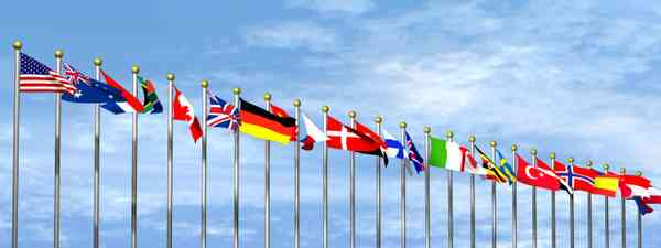 World flags (Dreamstime)