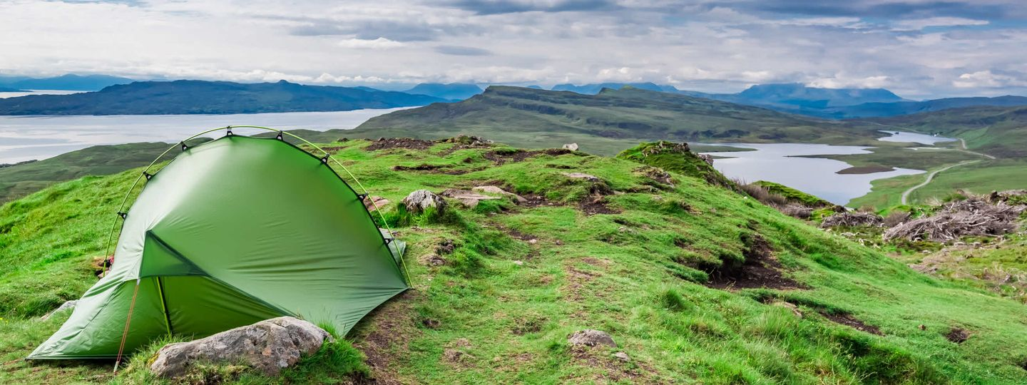 Wild camping UK (Dreamstime)