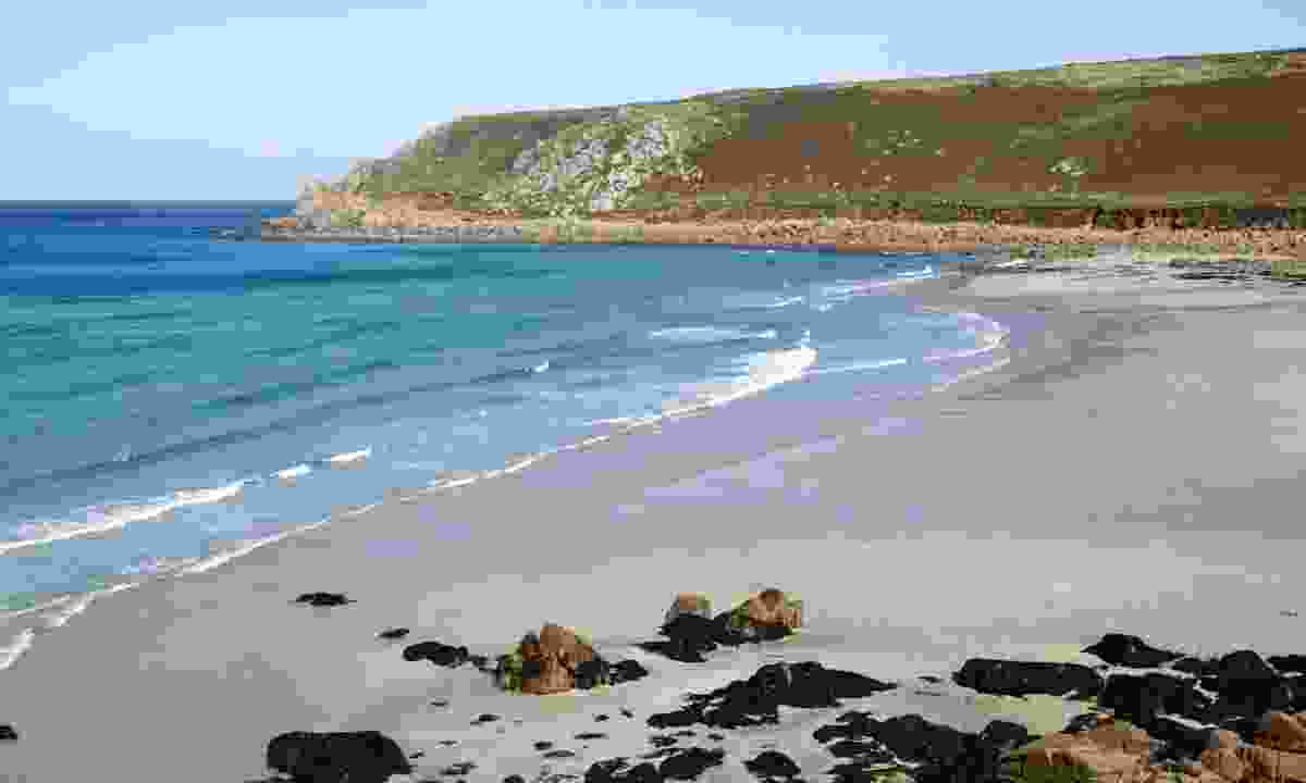 Gwynver beach (Dreamstime)