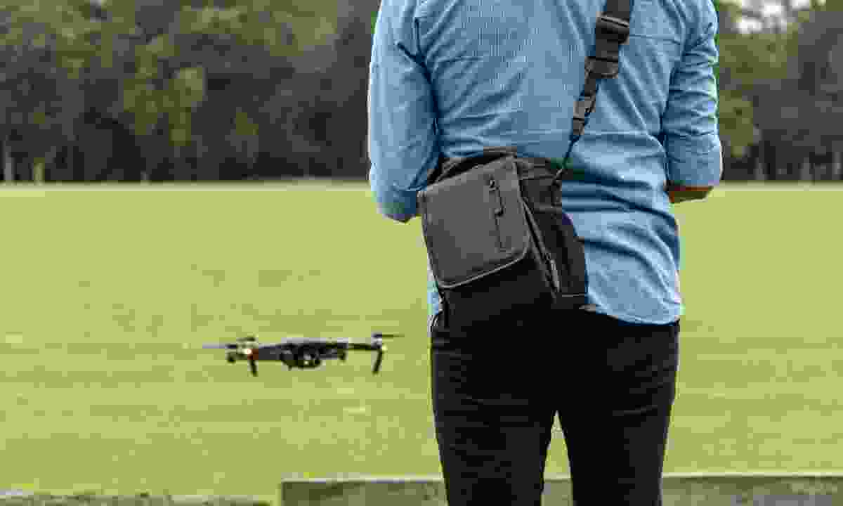 Once you've practiced with your drone in your house or garden, look to move to a larger space outside – ideally an open field (Dreamstime)