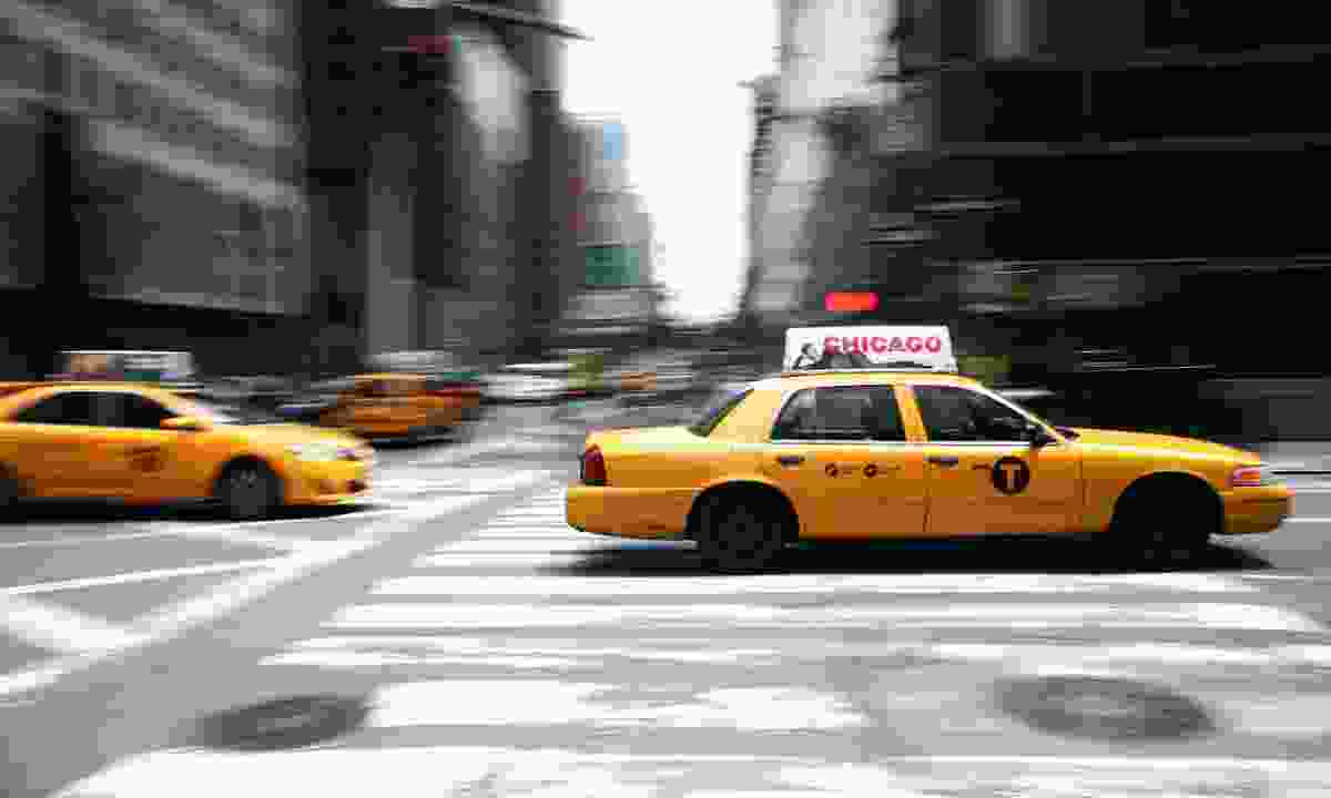 Cabs in New York (Dreamstime)