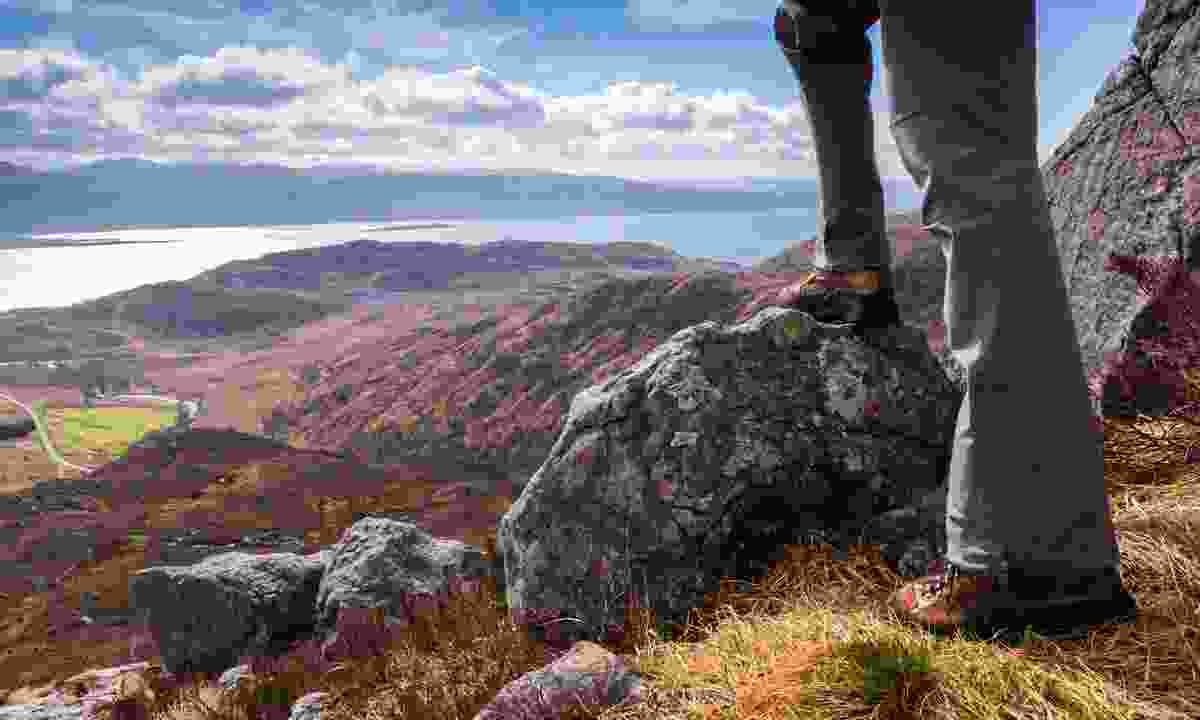 You should pack comfy, worn-in walking boots for your trip to the Scottish Highlands (Dreamstime)