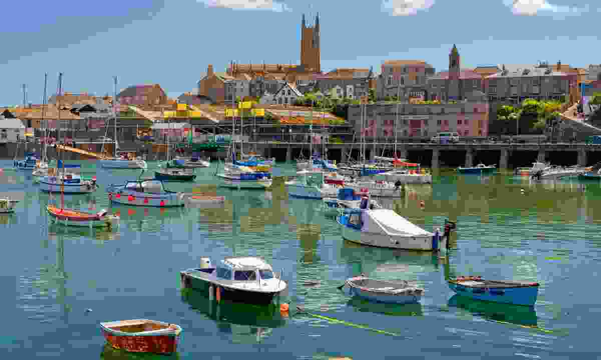 Penzance is just one pretty section of the South West Coast Path (Dreamstime)