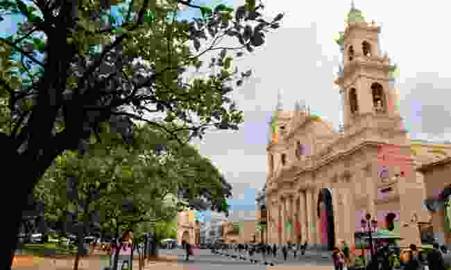 Stroll through the colonial streets and plazas of Salta (Dreamstime)