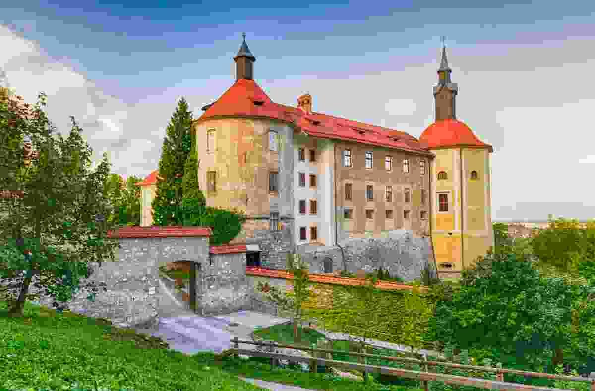 The castle of Škofja Loka (Shutterstock)
