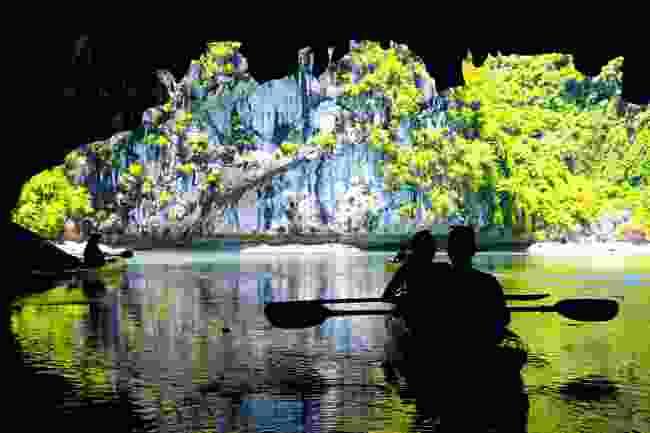 Kayaking through Lan Ha Bay? Definitely a high point (Shutterstock)