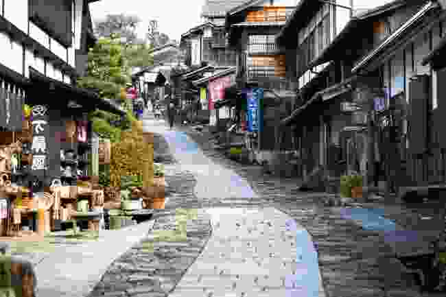 Nakasendo in Honshu, Japan (David Lovejoy/InsideJapan Tours)