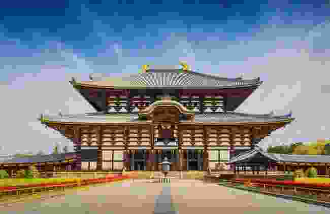 Nara's Tōdai-ji Temple (Shutterstock)
