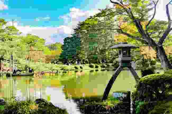 Visit Kenrokuen Garden