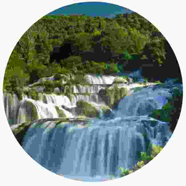 Skradinski Buk waterfall, Krka National Park (Dreamstime)