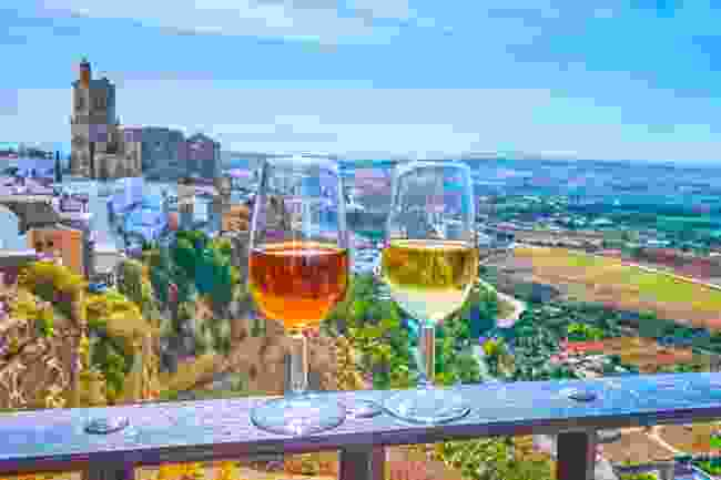 Sherry wines best tasted in the city of Cadiz (Shutterstock)