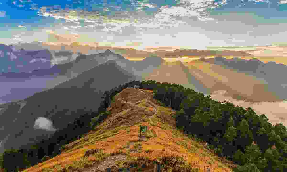 The Holy Ridge Trail (Shutterstock)