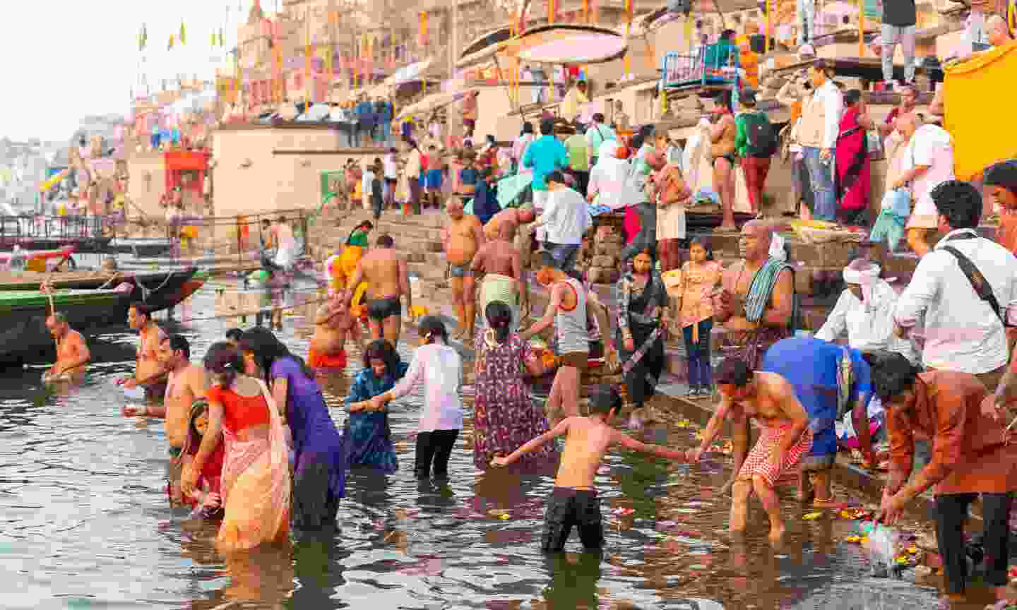 Cruise the Ganges, India (Shutterstock)