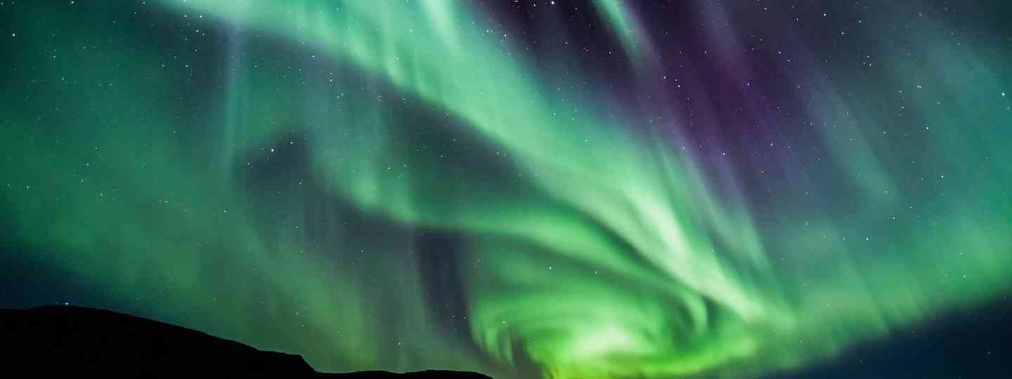 the northern lights (Shutterstock)