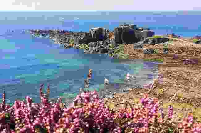 Tidal treasure: Fort Clonque, Alderney (Shutterstock)