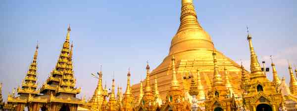 Shwedagon Pagoda, Myanmar (Burma) (Shutterstock)