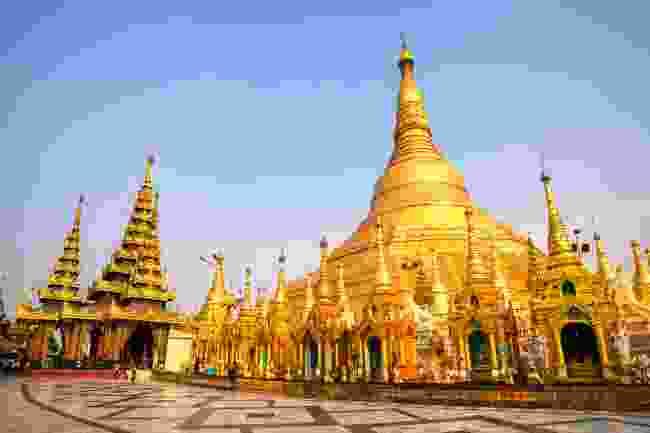 Shwedagon Pagoda, Myanmar (Shutterstock)
