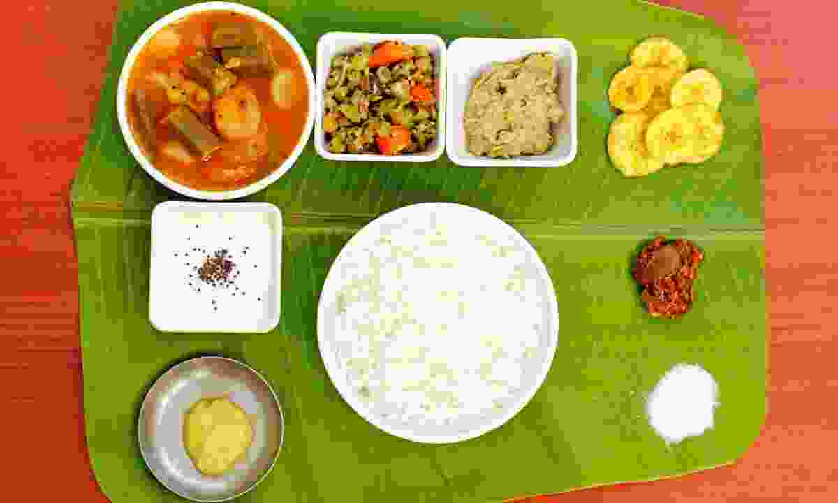 Southern Indian cuisine (Dreamstime)