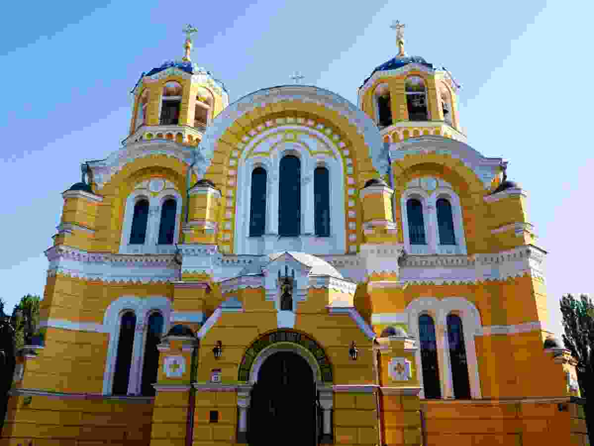 St Volodymyr's Cathedral, in Kiev, Ukraine (Dreamstime)
