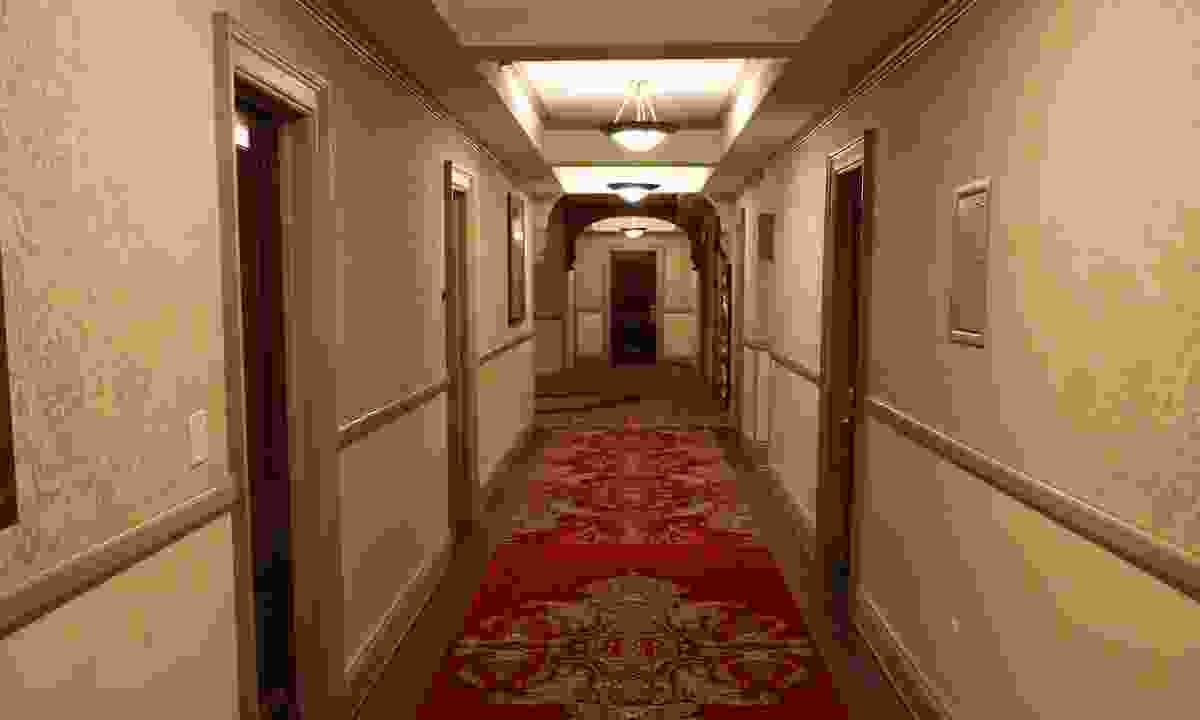 The long corridors of the Stanley Hotel recognisable from The Shining (Phoebe Smith)