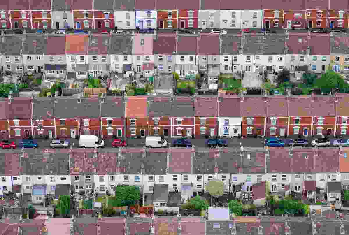 Adult Class, Urban View, Winner: 'Terraced Houses' in Bristol (Alex Wolfe-Warman)