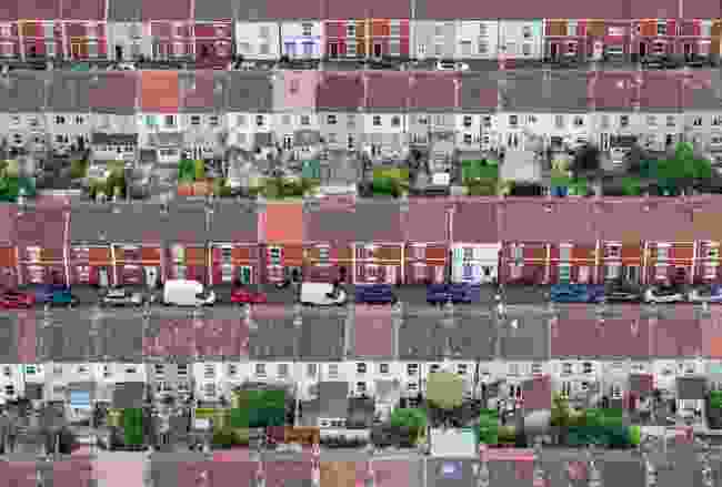 Adult Class, Urban View, Winner: 'Terraced Houses' in Bristol (Alex Wolfe-Warman)