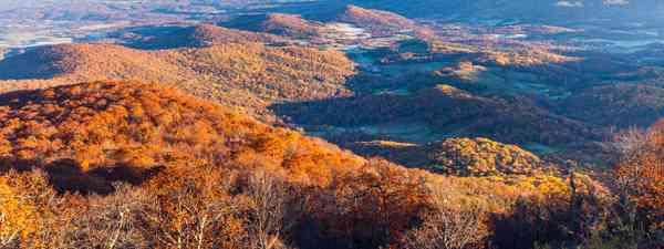 View from Skyline Drive, Shenandoah National Park, Virginia (Shutterstock)