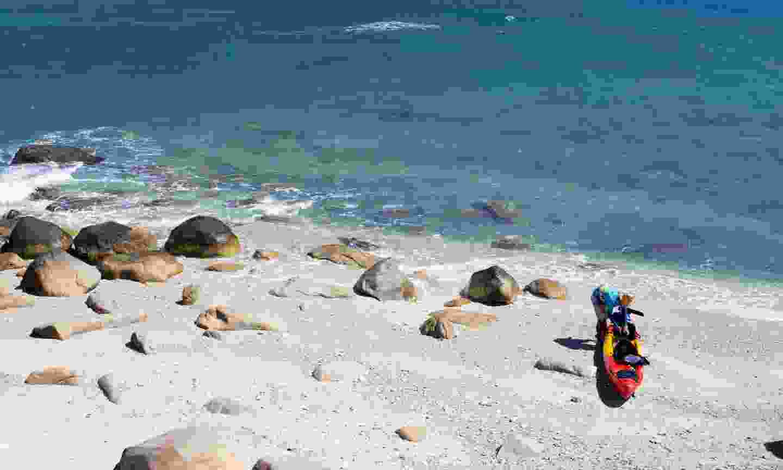 Sea kayaking among the islands of Fitzroy (William Gray)