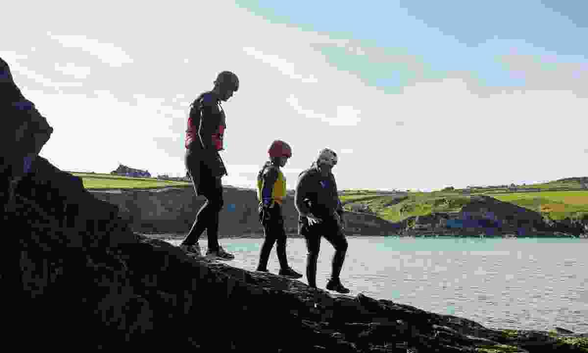 Coastal adventures in Pembrokeshire (Crown Copyright)