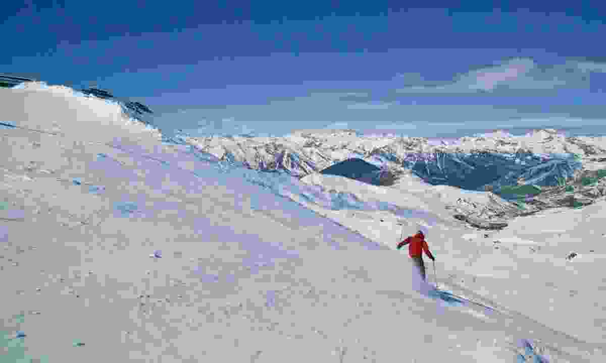 Skiing in Boí Taüll (Marisa Tartera)