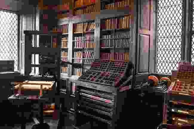Chetham's Library, Manchester (Shutterstock)