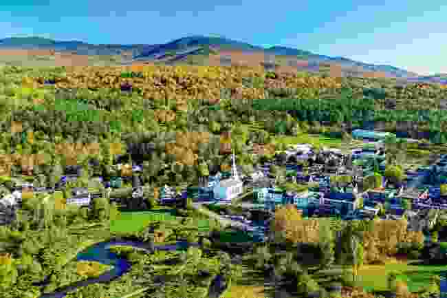 Stowe, Vermont (Shutterstock)