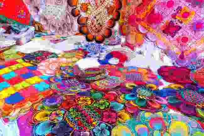 Embroidery in Paraguay (Shutterstock)