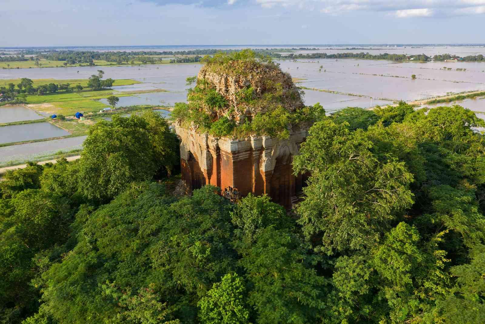 Angkor Borei, Cambodia (Shutterstock)