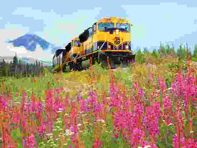 Alaska Railroad's Denali Star (Dave Blazejewski)