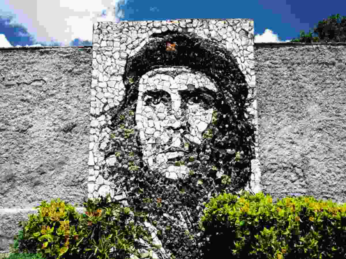 Che Guevara mural (Claire Boobbyer)