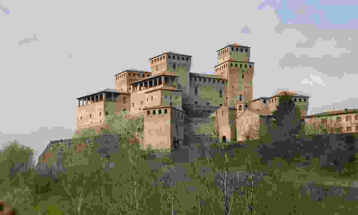Castle of Montechiarugolo, Parma (Graeme Green)