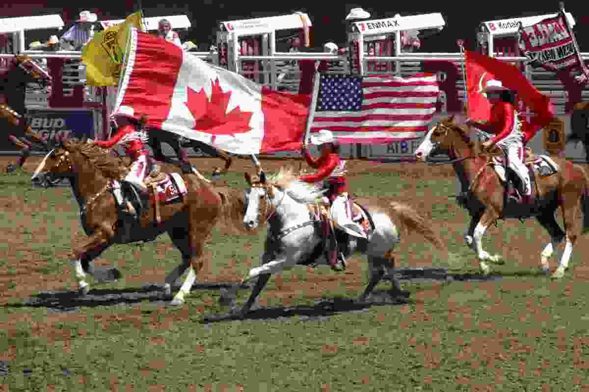 Calgary Stampede in 2004, Calgary, Canada (Shutterstock)