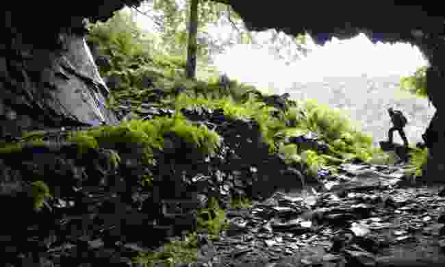 A cave on Castle Crag (Neil S. Price)