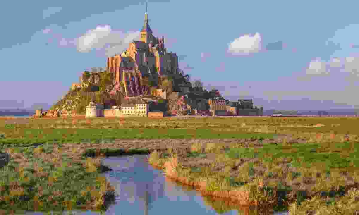Mont Saint Michel in Normandy (Dreamstime)