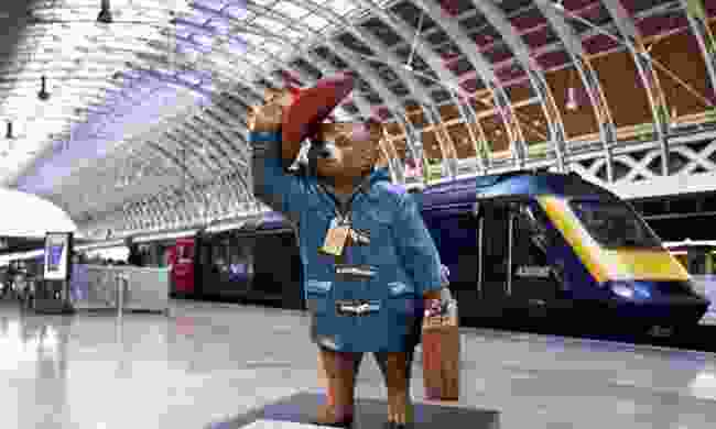 Paddington at Paddington Station (Dreamstime)